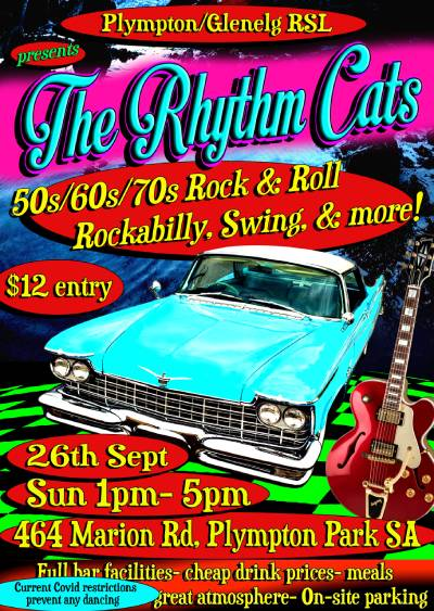 The Rhythm Cats Poster